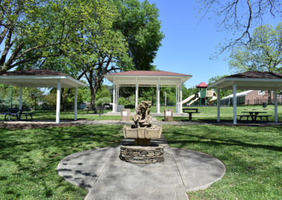 New London Park Fountain